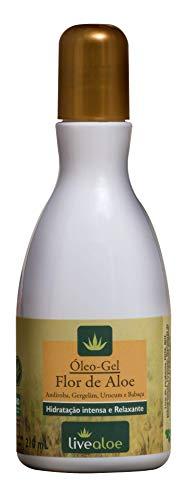 Óleo-Gel Flor de Aloe 120 Ml, Livealoe