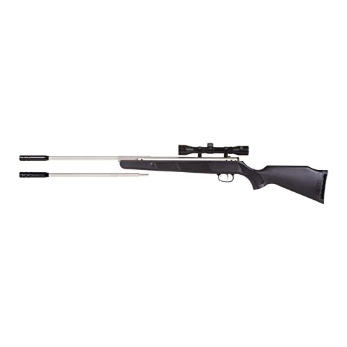 Beeman 10774 Silver Kodiak X2 DC Dual Caliber Air-Rifle with Scope, 4x32mm