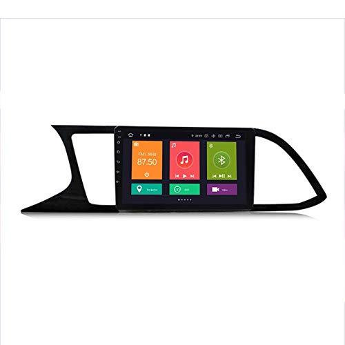 HP CAMP para Seat Leon 3 2012-2020 Sat Nav Doble DIN Car Stereo Radio 9 Pulgadas Pantalla táctil Unidad Principal Reproductor Multimedia Receptor de Video BT,4 Core,4G WiFi 1G+16G