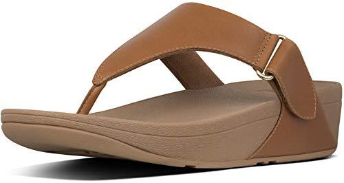 FitFlop Sarna Toe Thong Sandal Light Tan 8 M (B)