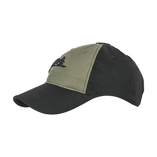 Helikon-Tex CZ-LGC-PR Gorra, Unisex Adulto, Negro/Verde (Olive Green), Talla Única
