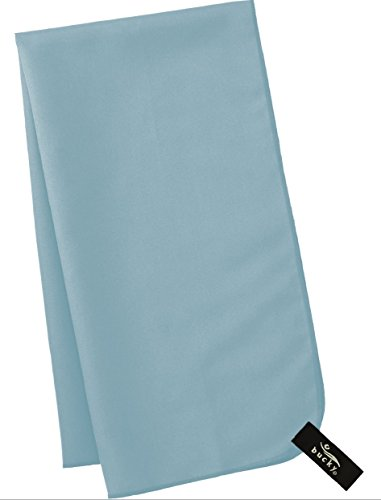 """Bucky Ultra Absorbent Lightweight Lint Free Quick Dry Twisted Chamois Microfiber (25x10""""), Blue 2 Pound"""