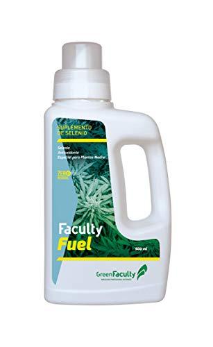 GreenFaculty - Fuel - Fertilizante Abono para Plantas de Exterior y Plantas Madre. Suplemento de Selenio. Cultivo de Interior, Exterior, Hidroponico. 500 mL