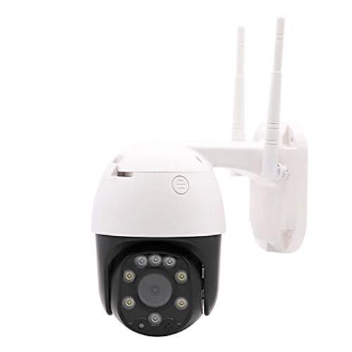 YX Monitor Exterior De WiFi De Alta Definición, Cámara De Cúpula Impermeable, Intercomunicador Remoto Giratorio, con Hotspot, Tarjeta De Plug-in