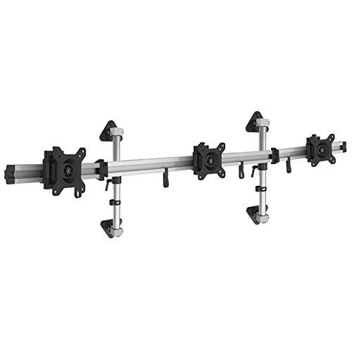 HFTEK 3fach-Wandhalterung Monitorarm Halter für DREI Bildschirme von 15-27 Zoll (MP230W40-N)