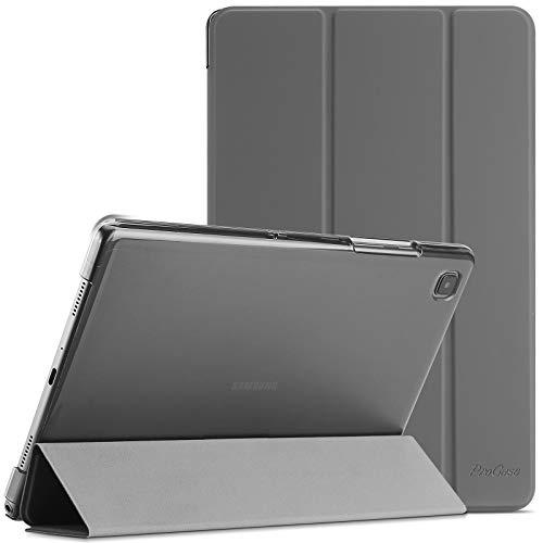 """ProCase Funda para Galaxy Tab A7 10.4"""" 2020 T500 T505 T507, Carcasa Delgada con Posterior Translúcido para Tableta Galaxy Tab A7 10.4 Inch SM-T500/T505/T505N/T507 Versión 2020 - Gris"""