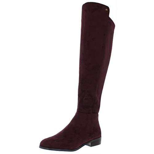 Michael Kors Femmes Bromley Boot Bottes Couleur Noir Damson Taille 37 EU / 6 Us