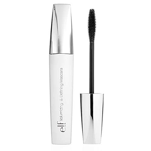 e.l.f. Cosmetics E.l.f. volumizing & defining mascara, jet black, 0. 185 fl. Ounce, Jet Black, 0.185 Ounce
