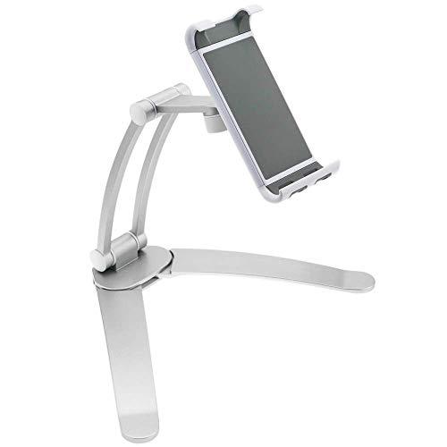 PrimeMatik - Soporte articulado de Tablet de 7-11' para Montaje en Mesa Pared y estanterías