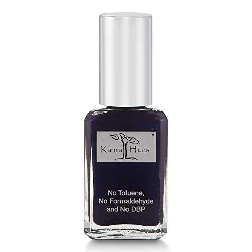 Karma Organic Natural Non toxic Nail polish - Vegan and Cruelty Free Nail Paint for Nail Art - Fast Drying Nail Polish for Women - Long Lasting Nail Polish with Nail Strengthening Formula (Diana)