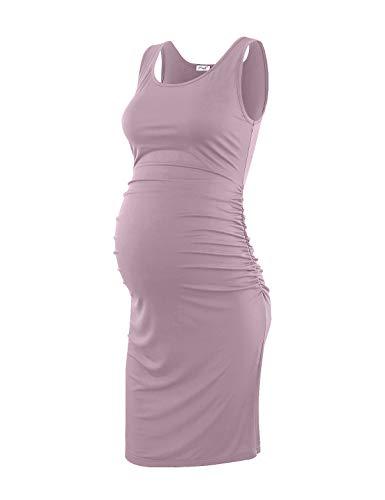 Peauty Maternity Dress, Maternity Dress for Photoshoot Mauve M