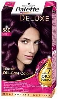 Palette Deluxe Color Hair Colour Dye 880 Aubergine by Schwarzkopf