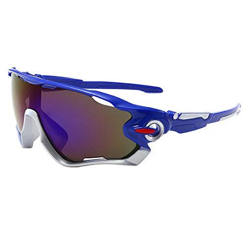 WQZYY&ASDCD Gafas de Sol Gafas De Ciclismo para Montar Gafas De Carretera Gafas Deportivas De Montaña MTB Al Aire Libre Gafas DeSol para Hombre Gafas De Bicicleta GafasGafas De Sol-17_