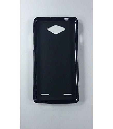 Funda de gel TPU carcasa protectora silicona para ZTE Blade L3 Plus Negra