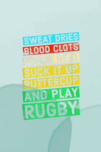 Outfit Planner Log Book: Funny Rugby Quote: Play Rugby