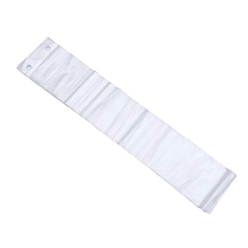 Cabilock 100 Piezas Transparentes Desechables Bolsas de Paraguas Mojadas Reemplazo de Bolsas Largas Recargas Dispensador Mangas Reducen La Limpieza en Días Lluviosos Prevenir Accidentes