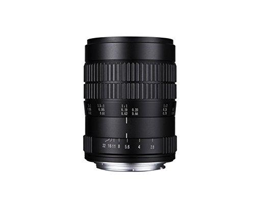 Laowa VEN6028N - Objetico de 60 mm para cámara Nikon, f/2.8 2X, Color Negro