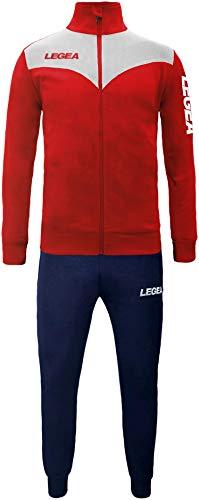My Custom Style Tuta Legea Peru XL Bianco-Rossa_P Blue. Senza Stampe