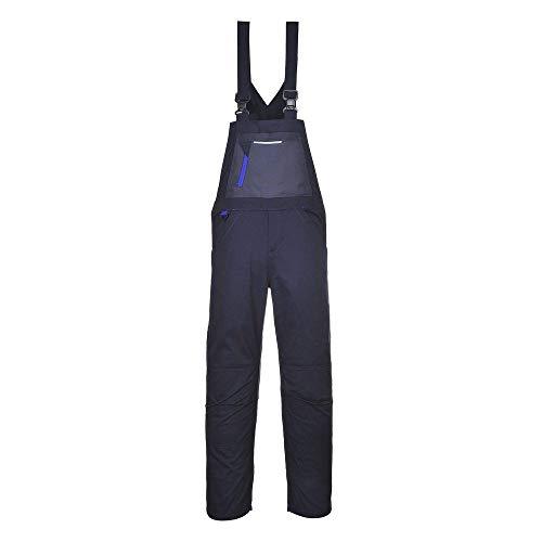Texo Arbeitslatzhose, Kniepolstertaschen, elastischer Rücken, D-Ring - S - Navy - Small EU / Small UK