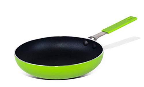 WQF Sartén de Cocina Sartén de Cocina de Hierro Fundido, Sartén Antiadherente, Mini sartén de 16 cm, Sartén para Crepes, Sartén pequeña -