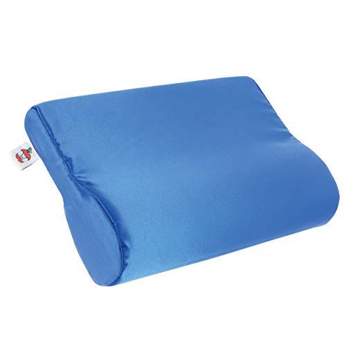 Core Products AB Contour Cervical Support Pillow, Satin - Blue