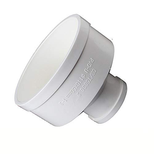 Acoplador de conducto de 110 mm a 75 mm de diámetro, conducto redondo de plástico para extractor de ventilador, baño, cocina, ventilación hidropónica.