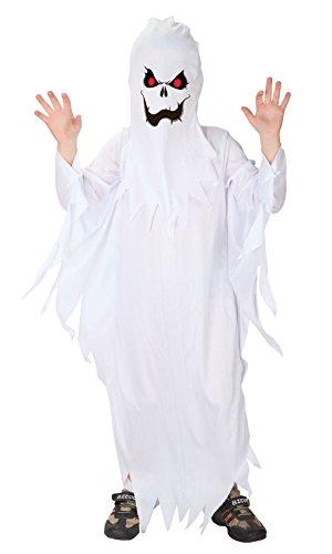 EOZY-Disfraz Halloween Niño Disfraz de Fantasma Niño Disfraz Fantasma Pacman Blanco Disfraz de Cosplay Disfraz Halloween Bebe