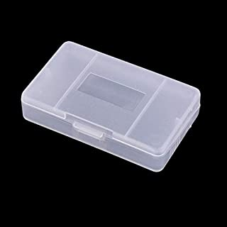 OSTENT 10 x Clear Plastic Game Cartridge Card Box Case Cover for Gameboy GBA SP GBM