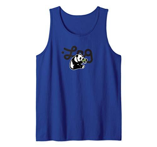 LRG Panda Eating Logo Plus Tree Tank Top