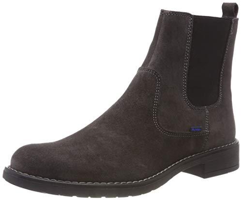 Richter Kinderschuhe Mädchen Mary Chelsea Boots, Grau (Steel 6500), 37 EU