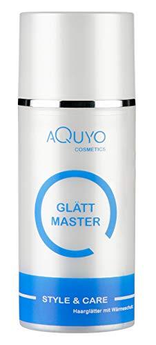 Style & Care Glätt Master - Glättungscreme zum Haare glätten mittels Glätteisen & Fön (100ml)   Creme zur Haarglättung mit aktivem Hitzeschutz gegen Haarbruch und Frizz