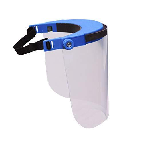 Pantalla Protectora Facial VISERA 22x21 cm transparente, Protección para viajes, Visera Protección Facial, Viseras Protectoras