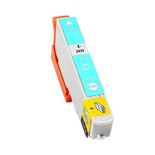 T2435 Cartuccia Compatibile Ciano Photo Per Epson 24XL XP 55 750 760 850 860 950 960
