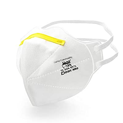 Nextirrer N95 Respirator Mask with NIOSH Approval - Box of 20 Pieces by Guangzhou Harley Commodity Co., Ltd