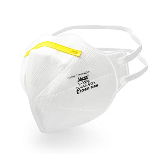 niosh n95 masks Nextirrer NIOSH Certified N95 Respirator Mask - Pack of 20 Mask