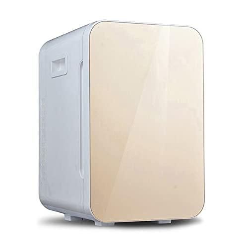 Mini Nevera Mini refrigerador Golden, Autocaravana del Coche del hogar, 2 0L / 25L Refrigerador Compacto de una Sola Puerta (Color : 25L, Size : 220v)