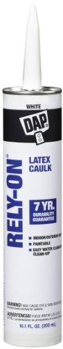 Dap #18250 10.1OZ White Latex Caulk