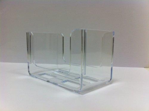 Ständer für Bierdeckel in Gastroqualität, transparent/glasklar (Setbestellung 10 Stück)