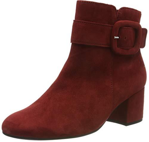 Gabor Damen Basic Stiefeletten, Rot (Fox 10), 38 EU