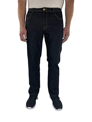 Herren 5-Pocket Jeans 60, 62, 64, 66, 68, 70, XL, XXL, 3XL, 4XL, 5XL, 6XL, Große Größen, Übergröße, Big Size, Plus Size (68, Schwarz)