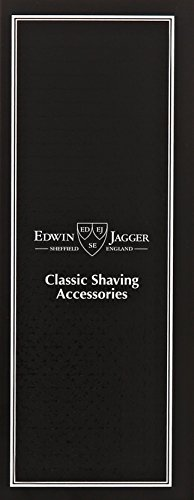 Edwin Jagger Amazon Exclusive Kelvin Chrome Plated Knurled Handle Double Edge Safety Razor