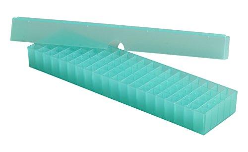 Camlab Plastics RTP/72400-G Opbergdoos Lange doos, 100 plaats, Polypropyleen, Groen