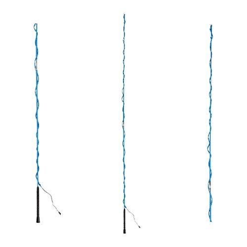 Waldhausen Longierpeitsche zerlegb, azureblau, 200 cm, azurblau, 200 cm
