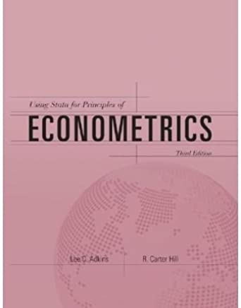 [(Using Stata for Principles of Econometrics )] [Author: Lee C. Adkins] [Feb-2008]