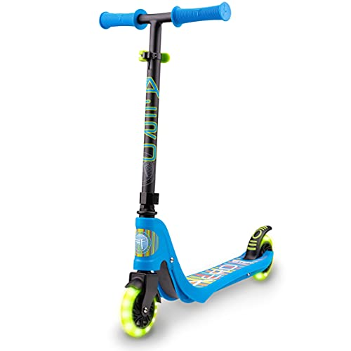 Flybar Aero 2-Wheel Kick Scooter For Kids With Grip Tape Deck, ABEC...