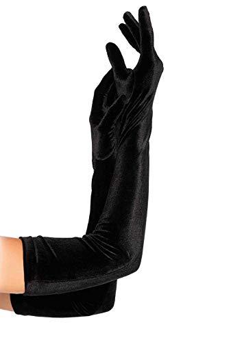 Leg Avenue Women's One Size Opera Gloves, Black
