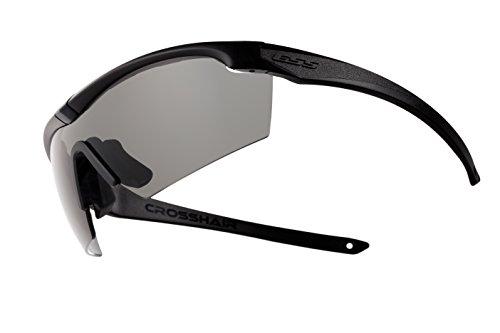 Ess Gray Safety Glasses, Anti-Fog, Scratch-Resistant, Wraparound