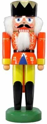 Nutcracker king 31cm Shipping included wood mountains ore Sale Special Price figure