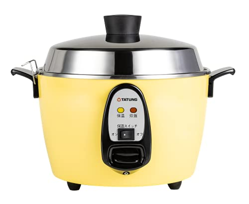【TATUNG 公式販売店】大同電鍋(電気釜) 炊飯器 6合 外釜ステンレスーきはだ色ー Mサイズ 【正規品】