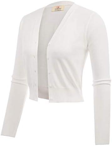 Woven Short Bolero Shrug for Juniors Teens Ivory Size XL CL2000 2 product image